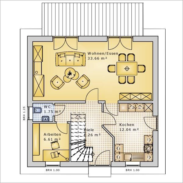 haus sd 129 k k immobilien immobilienmakler schl sselfertige h user. Black Bedroom Furniture Sets. Home Design Ideas